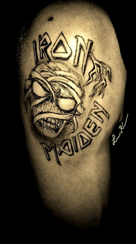 sharpie tattoo ideas iron maiden tribute sharpie my sharpie tattoos