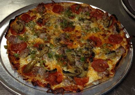 Happy Pizza With The Works Except Anchovies Day by National Pizza With The Works Except Anchovies Day Kalw