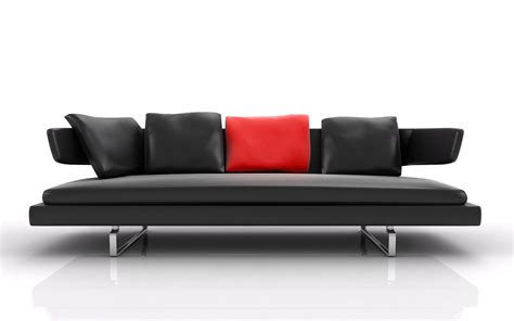 Modern Sofas Leather Modern Leather Sofa Interior Design Ideas