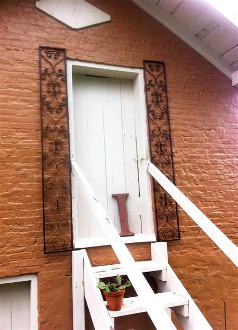 exterior doors new orleans wrought iron new orleans door exterior shutters