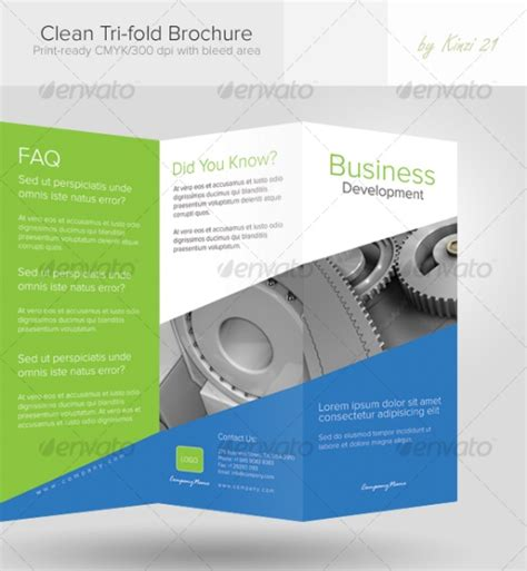 pages brochure templates km creative