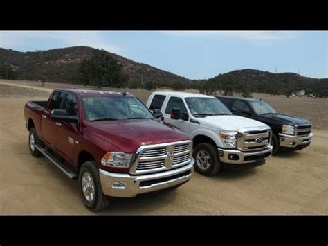2013 vs 2014 ram 2500 2014 ram 2500 hd vs ford f 250 vs chevy silverado 2500 0