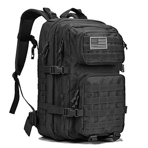 army backpack black tactical backpack large army 3 day assault pack