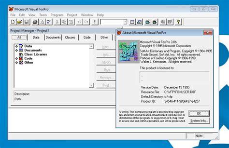 guardar imagenes visual foxpro c 243 mo abrir programas antiguos en windows 10