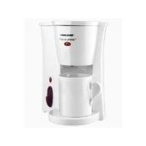 Black Amp Decker Cup At A Time Coffee Maker Model Dcm6