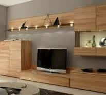 echtholzm bel wohnzimmer die moderne wohnwand ist praktisch und bietet viel stauraum an