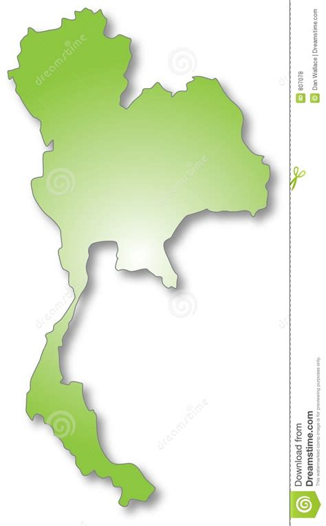 thailand map ai thailand map stock vector image of illustration asia