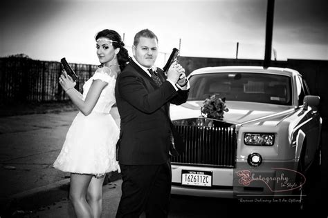 wedding theme of bonnie and clyde