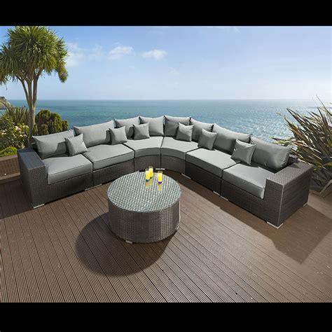 large outdoor sofa extra large outdoor garden 8 seater corner sofa group