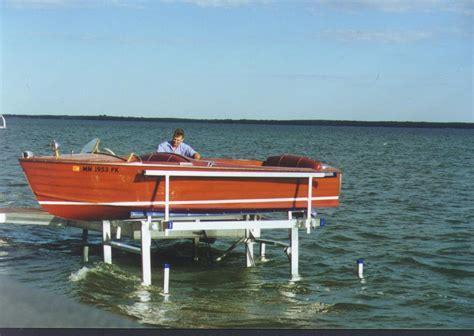 boat lift oil shoremaster boat lift odonnells docks