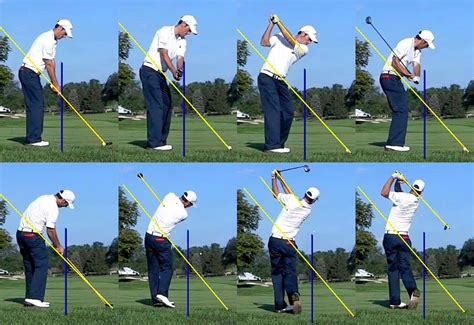 correct golf swing proper swing plane for irons pictures to pin on