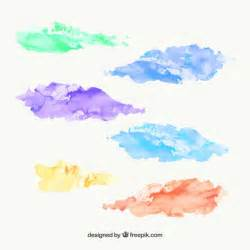 how to water color watercolor stains vector premium