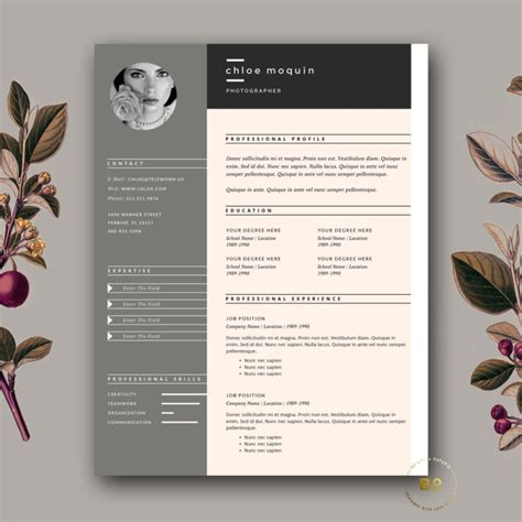 creative cv template pages 21 web designer resume templates indesign psd ms word
