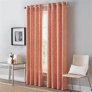Grommet Machine For Curtains Herringbone Grommet Top Window Curtain Panel Www