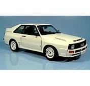 Audi Sport Quattro Swb White 1984 Autoart Diecast Model
