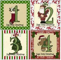 printable instructions for hallmark countdown to christmas clock 2016 crafts printables patterns pole