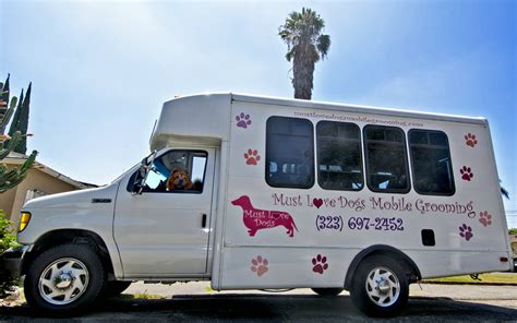 mobile groomer must dogs mobile grooming
