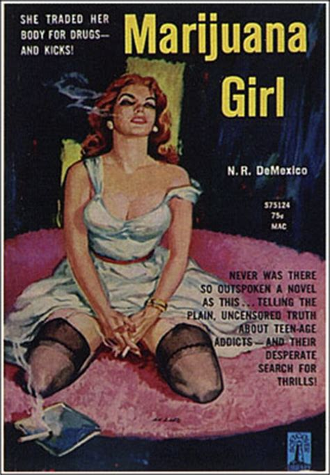 marijuana girl cover poster