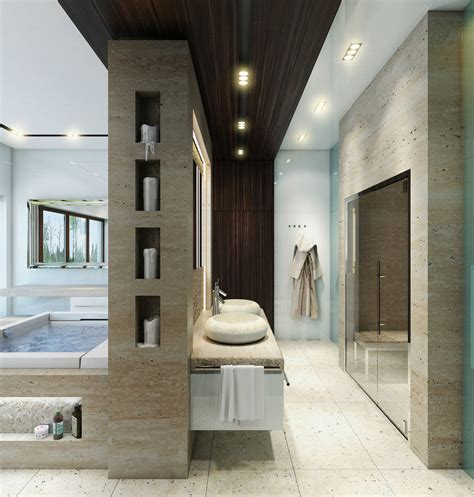 luxury bathroom layout interior design ideas