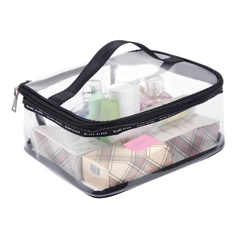 Clear Waterproof 7pcs Multicolor Waterproof Pouch Bag For pvc transparent cosmetic bags s travel waterproof clear wash organizer pouch makeup