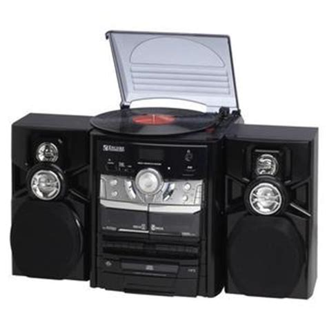 9399 encore shelf stereo system with 3 disc cd player