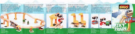brio skytrain brio wooden railway guide product database