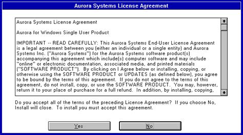 design expert license agreement aurora systems inc affordable effective solutions for