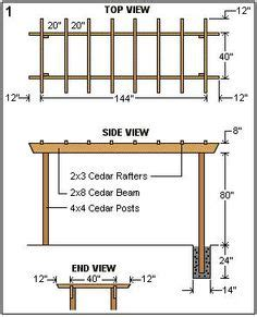 free trellis plans free garden plans how to build how to draw pretty and useful pergola plans