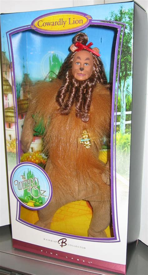 wizard of oz� cowardly lion ken doll