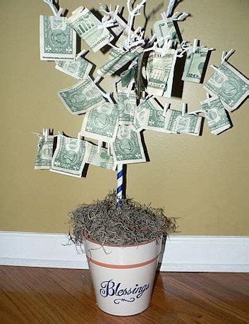 money crafts for creative ways to give money gifts