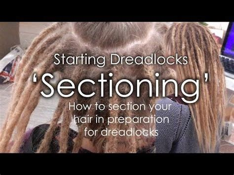 sectioning dreads how to section dreadlocks starting dreadlocks