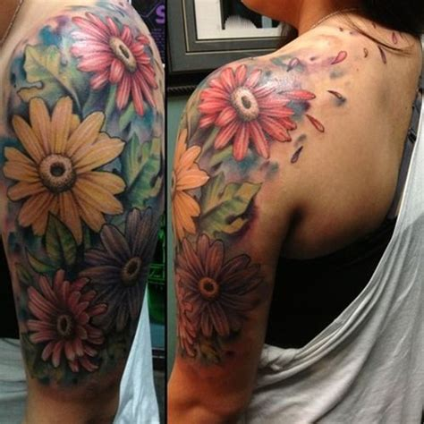 flower half sleeve tattoos sleeves for this is my 5th largest and most