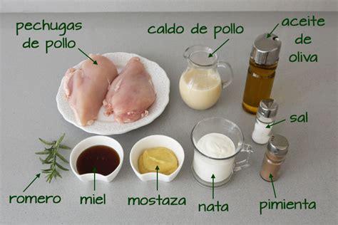 cocinar pechugas de pollo en salsa pechugas con salsa de miel y mostaza c 243 digo cocina