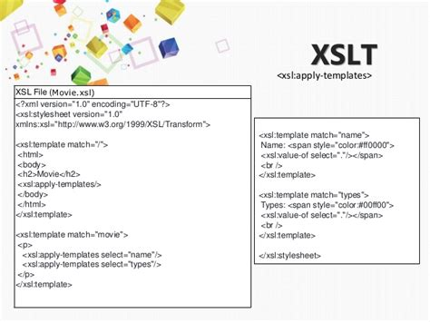 Xslt Apply Templates to try use xsl for display xml file