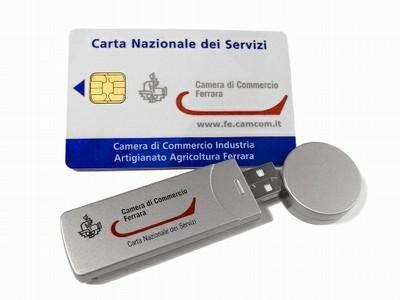 di commercio firma digitale disponibili i nuovi dispositivi smart card agenzia la