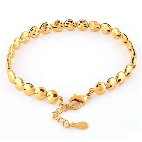 Gold Angti Disain by Chain Bracelets For