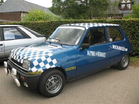 renault 5 alpine turbo specs