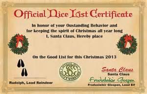 santa good list certificate search results calendar 2015