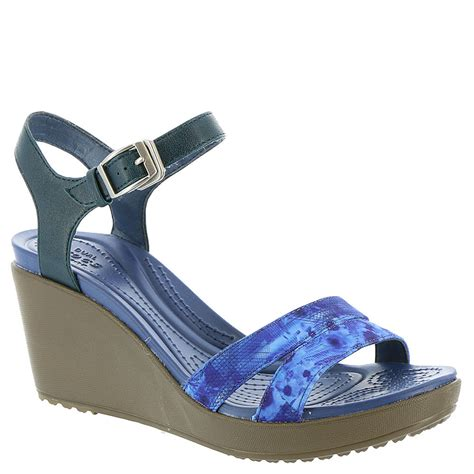 Crocs Womens Leigh Ii Ankle Graphic Wedge Angkel Angkle crocs leigh ii ankle graphic s sandal ebay
