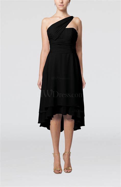 black plain  shoulder sleeveless  lo ruching