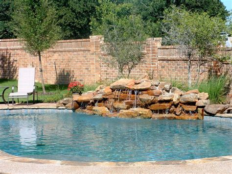 diy outdoor pond waterfall pool design ideas natural red stone pool waterfall ideas