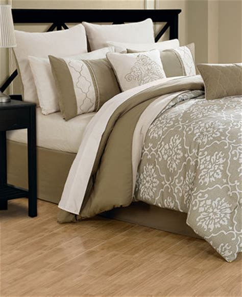 macys comforter sets closeout layla 24 piece comforter sets bed in a bag