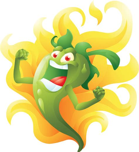 funny hot pepper images cartoon spicy peppers pictures to pin on pinterest pinsdaddy