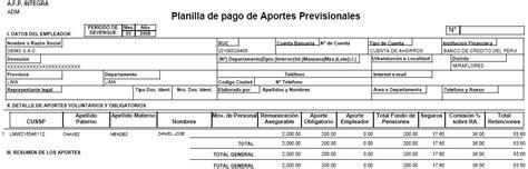 planilla de nomina de pago ejemplos planilla de pago planilla de remuneraciones en