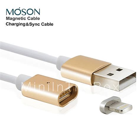 New Metal Magnetic Data Cable For Iphone 5 6 Mantap 2 4a mfi new metal magnetic 8pin usb charging charger cable for apple iphone 7 6s 6 plus se 5s