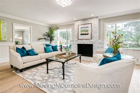 living room staging vacant home staging moving mountains design los