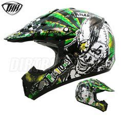 green motocross gear 2014 thh tx12 hazard motocross helmet black silver