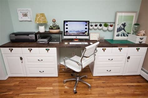 Ikea Office Desk Hack Ikea Hackers Custom Command Center Fish Tank Desks Pinterest Custom Desk Kitchen Desks