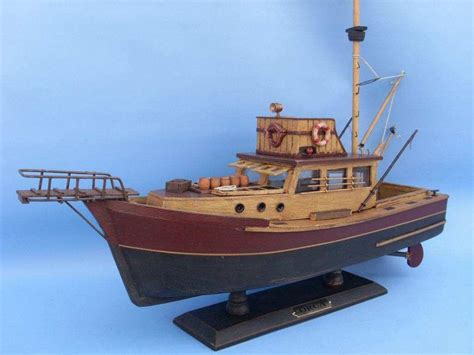 jaws boat images buy wooden jaws orca model boat 20 inch models ships