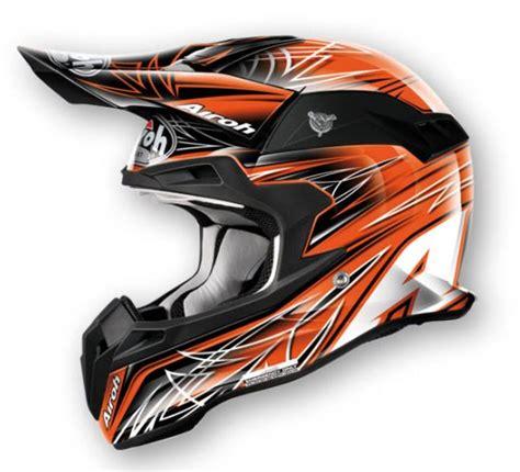 Helm Airoh Trail airoh アイロー オフロードヘルメット ターミネーター シャープ カラー オレンジ カラータイプ グラフィック airoh ttsh32 ウェビック